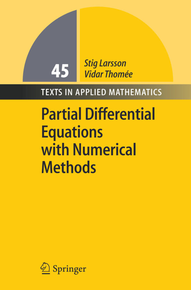 Partial Differential Equations with Numerical Methods als Buch