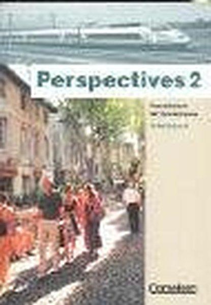 Perspectives 2. Kursbuch und Arbeitsbuch als Buch