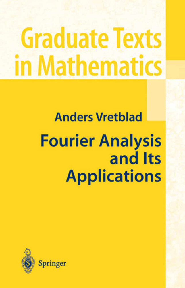 Fourier Analysis and its Applications als Buch (gebunden)