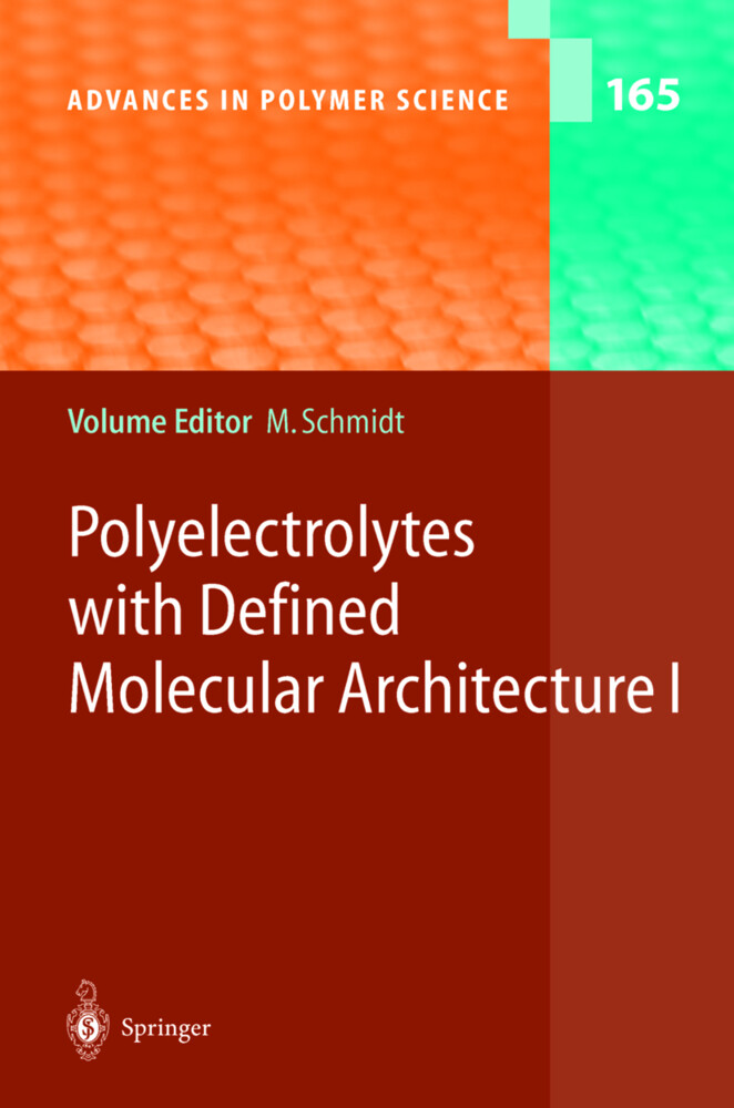 Polyelectrolytes with Defined Molecular Architecture I als Buch