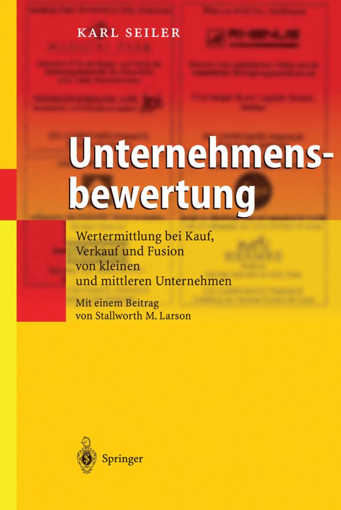 Unternehmensbewertung als Buch
