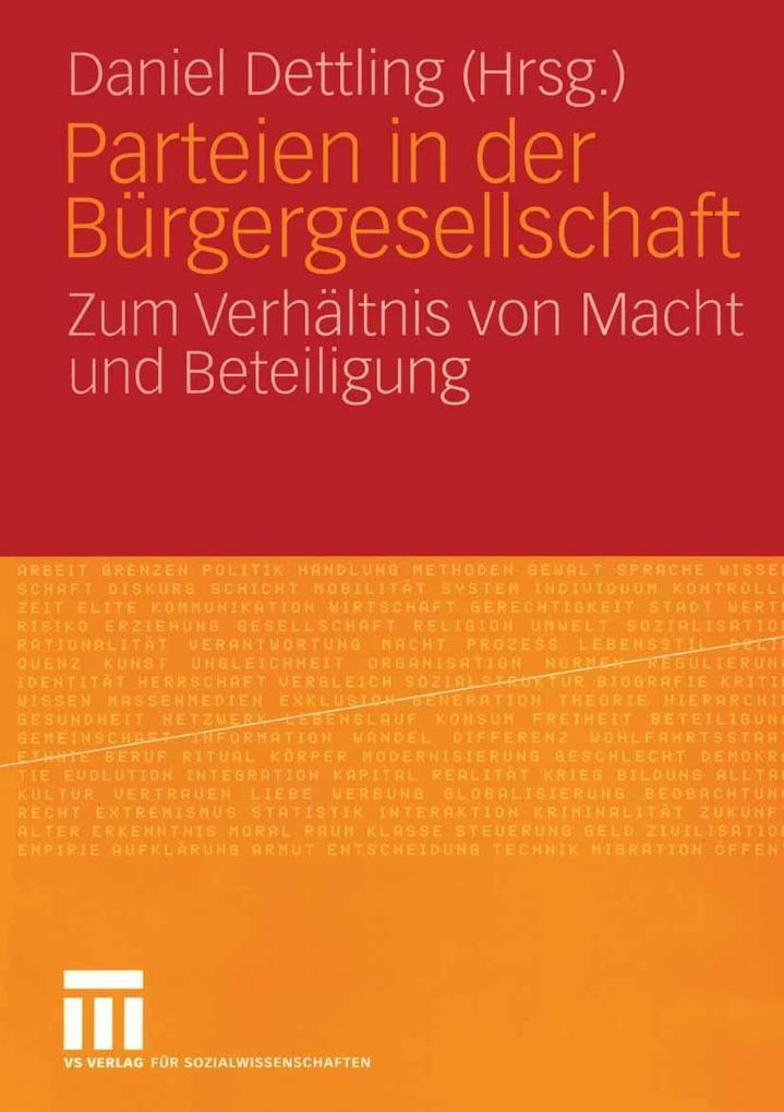 Parteien in der Bürgergesellschaft als eBook Do...