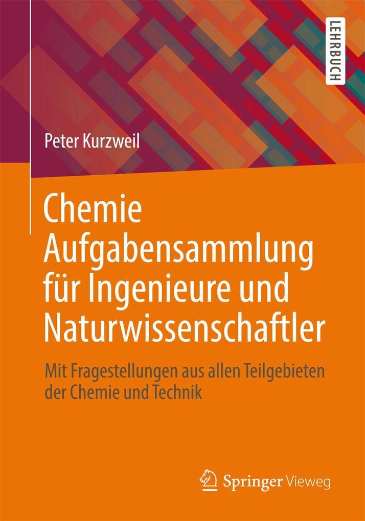 Chemie Aufgabensammlung für Ingenieure und Natu...