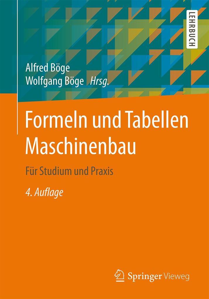 Formeln und Tabellen Maschinenbau als eBook Dow...