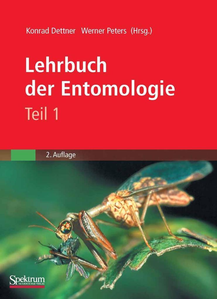 Lehrbuch der Entomologie als eBook Download von