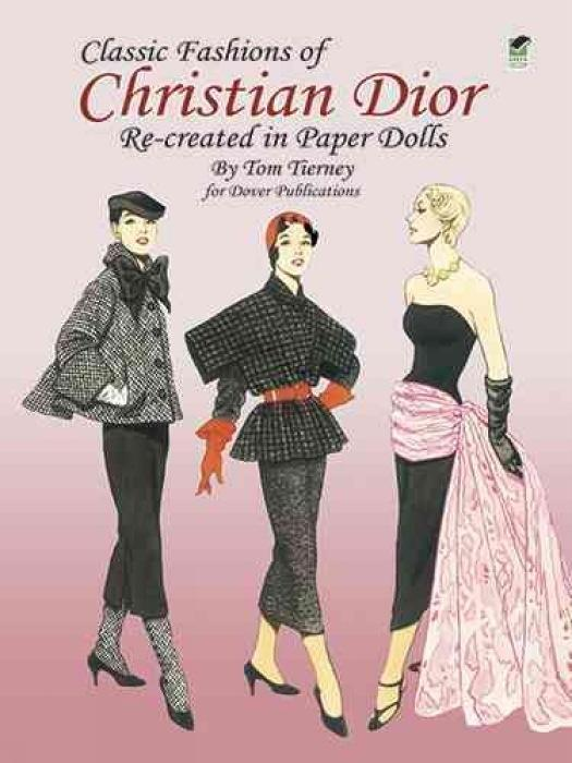 Classic Fashions of Christian Dior: Re-Created in Paper Dolls als Taschenbuch