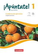 ¡Apúntate! - Nueva edición - Band 1 - Gymnasium - Cuaderno de ejercicios mit eingelegtem Förderheft und Audios online