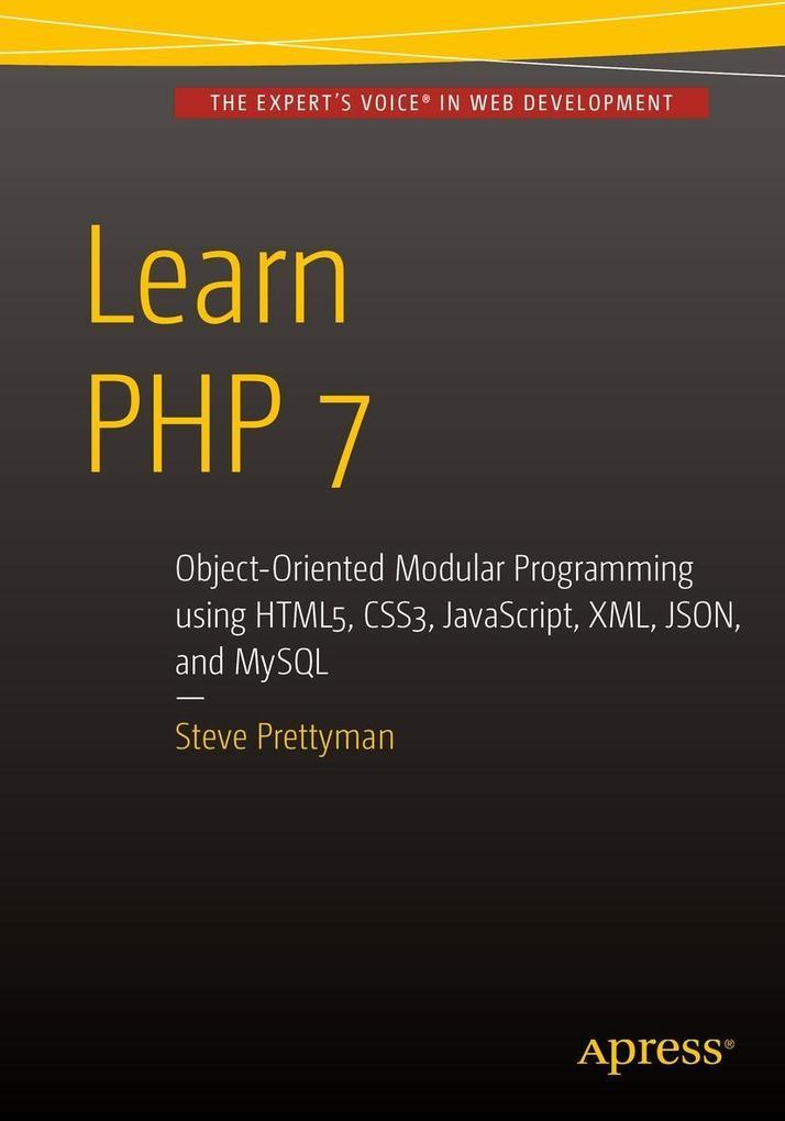 Learn PHP 7 als eBook Download von Steve Prettyman