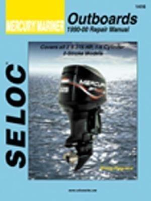 Mercury/Mariner: Outboards, 1990-00 Repair Manual 2 1/2-275 Horsepower, 1 - 6 Cylinder als Taschenbuch