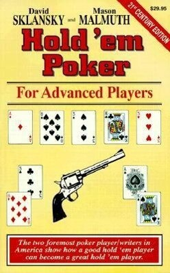 Hold'em Poker: For Advanced Players als Taschenbuch