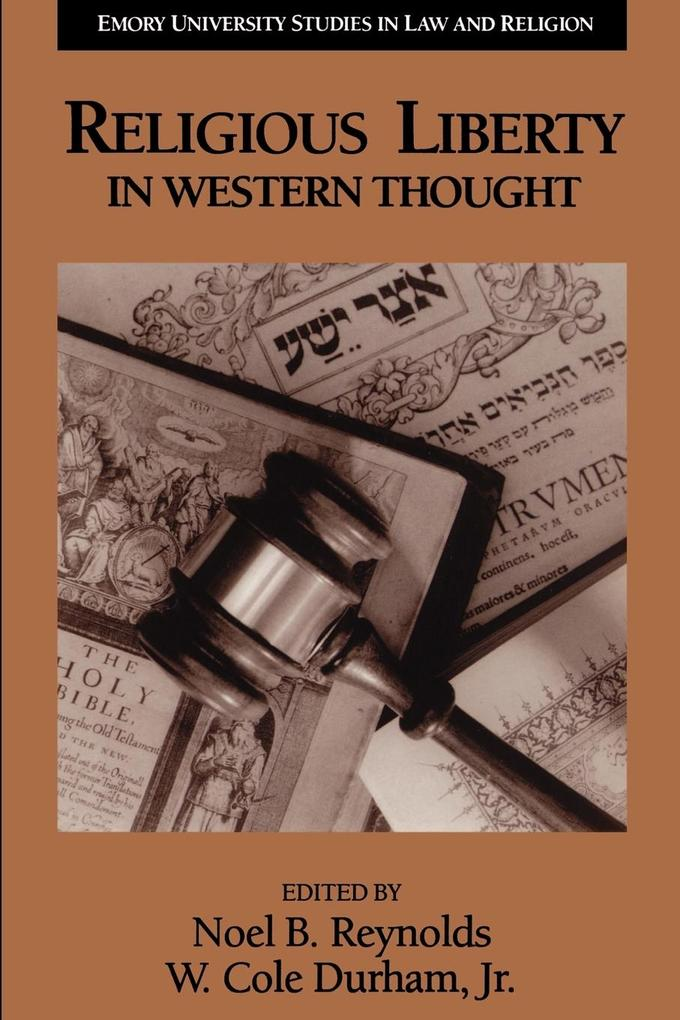 Religious Liberty in Western Thought als Taschenbuch