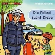 Die Polizei sucht Diebe. CD + Ausmalheft