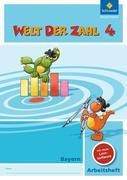 Welt der Zahl 4. Arbeitsheft mit CD-ROM. Bayern