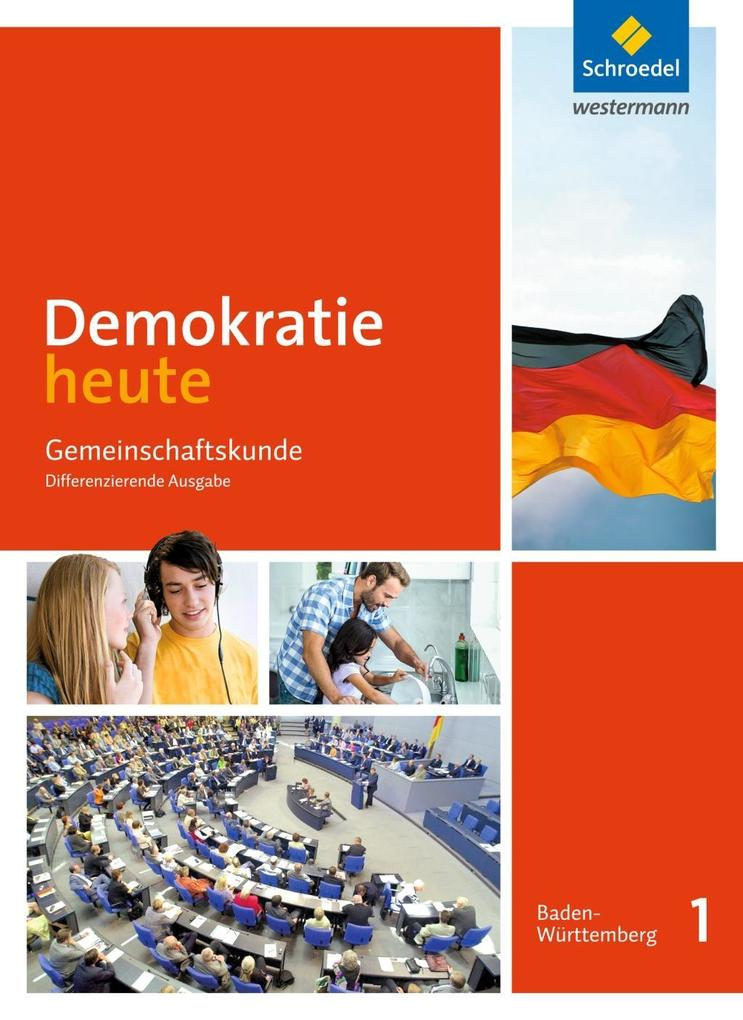 Demokratie heute 1. Schülerband. Baden-Württemb...