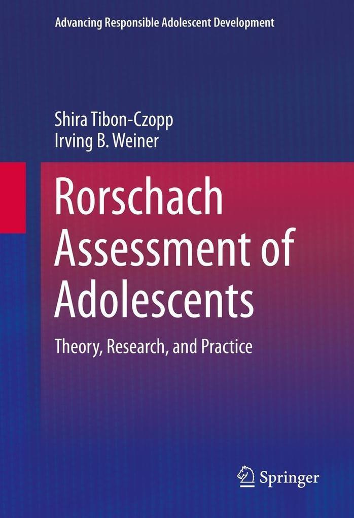 Rorschach Assessment of Adolescents als eBook D...
