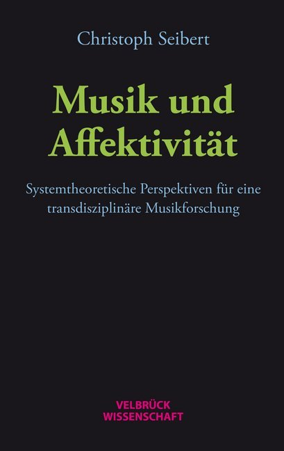 Musik und Affektivität als Buch von Christoph S...