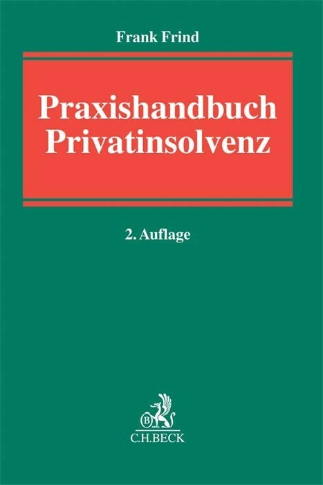 Praxishandbuch Privatinsolvenz als Buch von Fra...