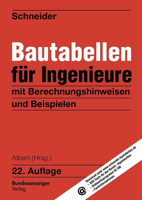 Bautabellen für Ingenieure als Buch