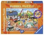 Spaß auf der Baustelle 80 Teile Puzzle