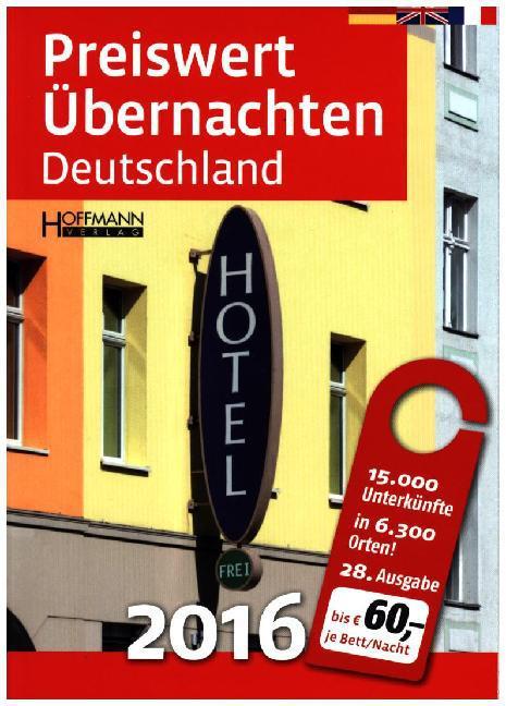 Preiswert übernachten Deutschland 2016 als Buch...