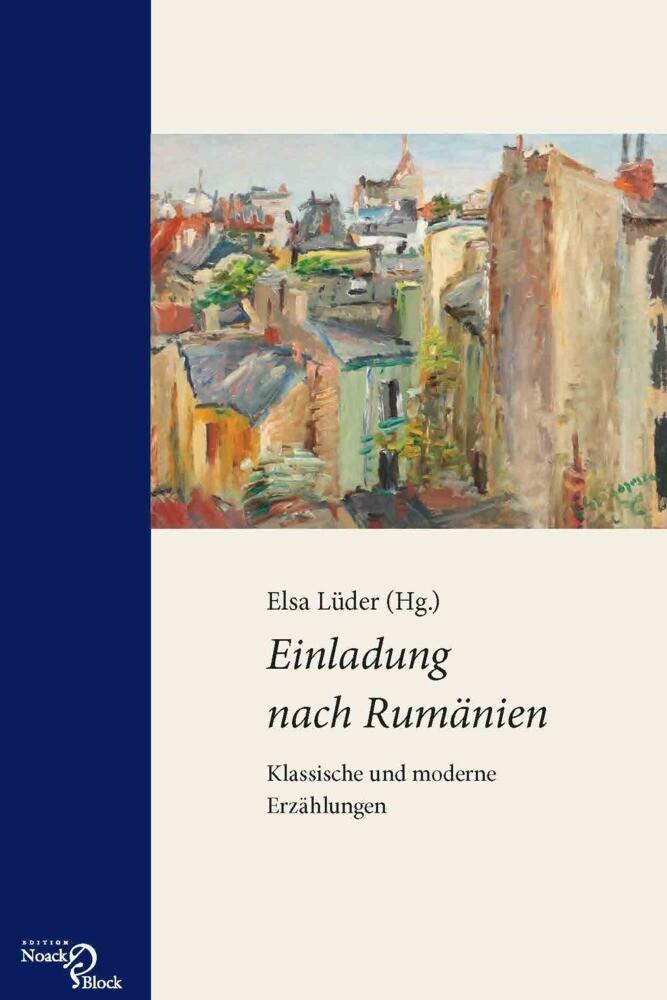 Einladung nach Rumänien als Buch von Elsa Lüder