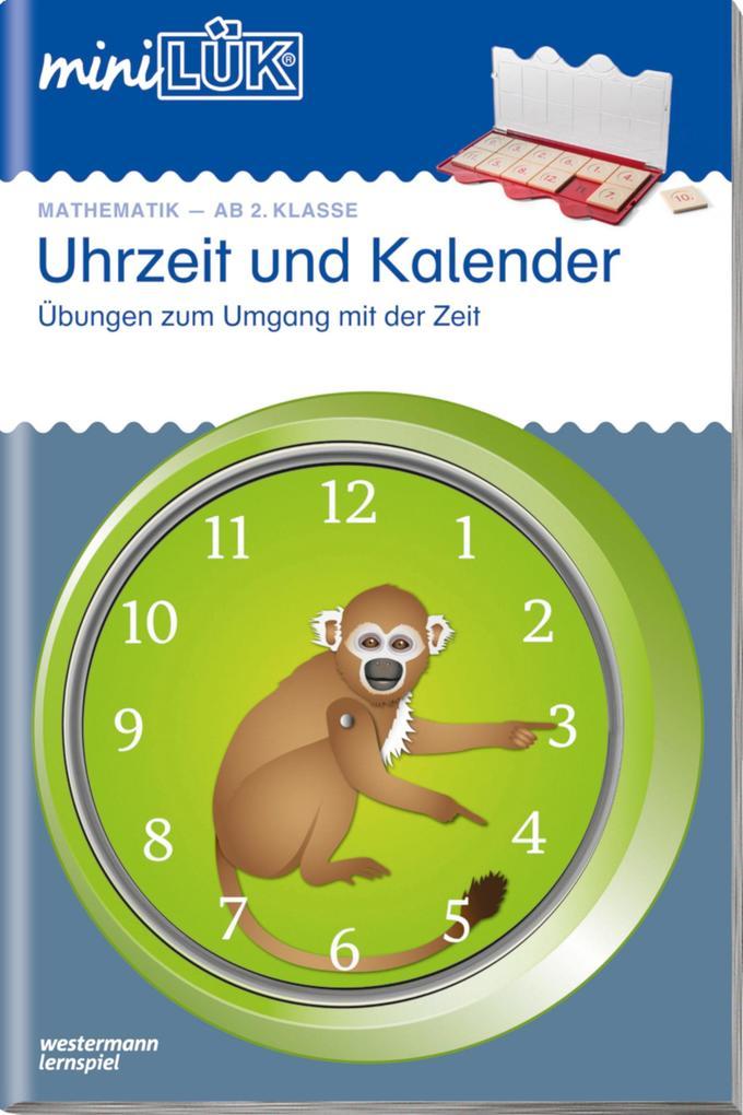 Uhr und Kalender von miniLÜK.