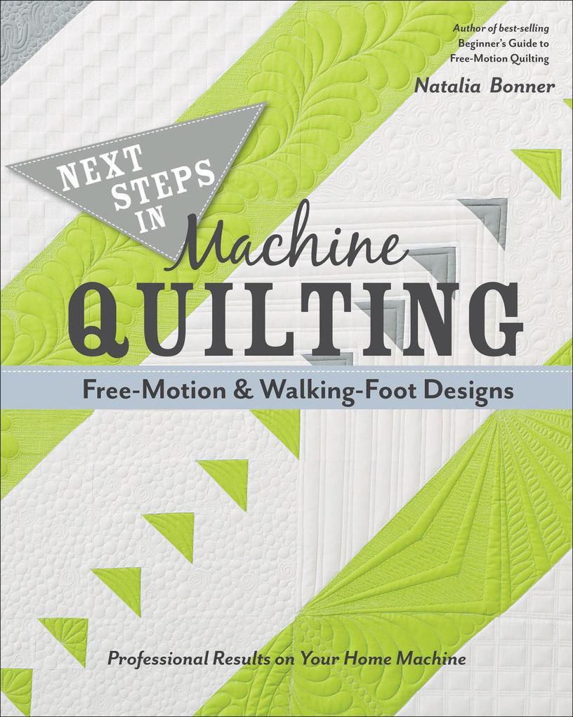 Next Steps in Machine Quilting-Free-Motion & Wa...