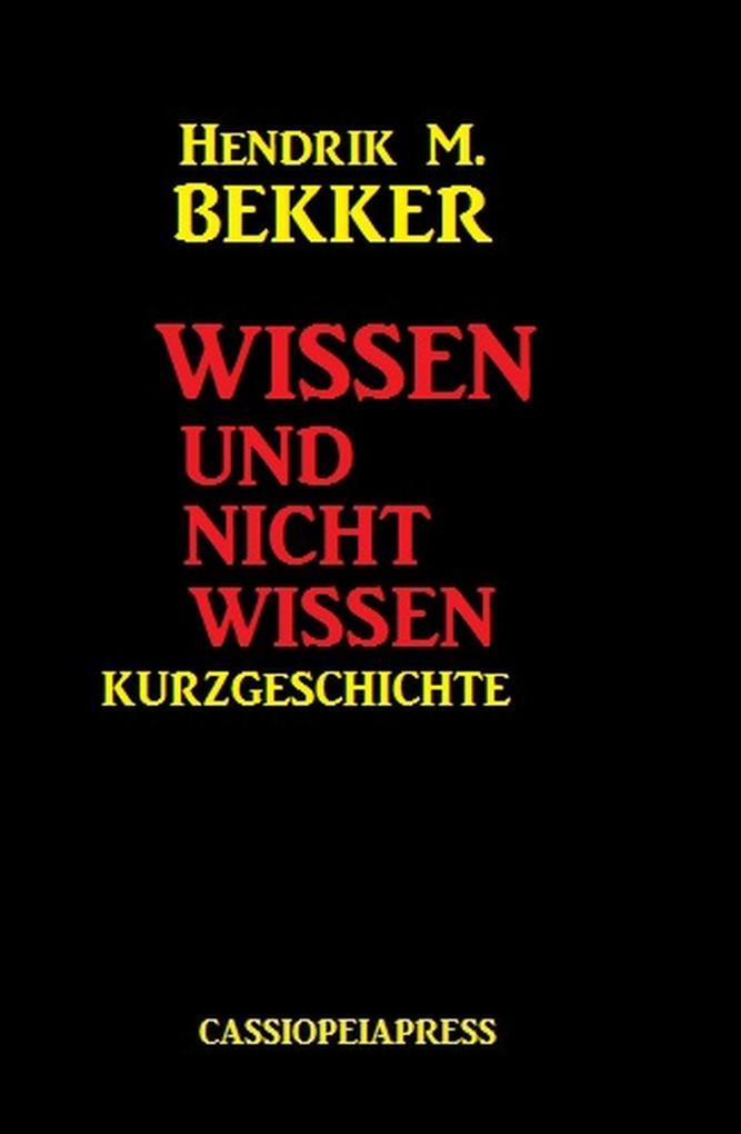 Wissen und nicht wissen: Kurzgeschichte als eBo...