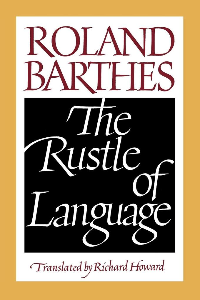 The Rustle of Language als Taschenbuch