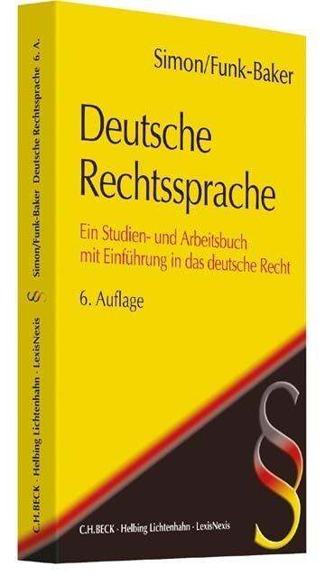 Deutsche Rechtssprache als Buch