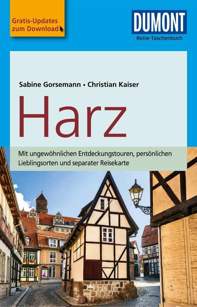 DuMont Reise-Taschenbuch Reiseführer Harz als e...
