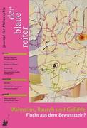 Der Blaue Reiter. Journal für Philosophie / Wahnsinn, Rausch und Gefühle
