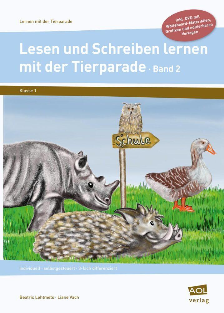 Lesen und Schreiben lernen mit der Tierparade 2...