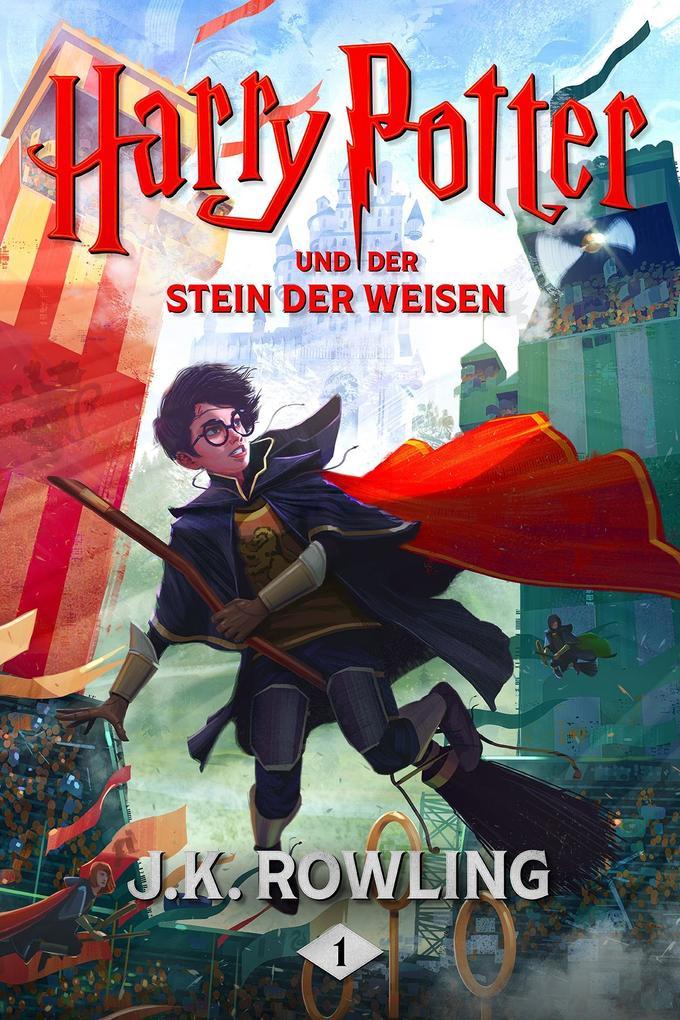 Harry Potter und der Stein der Weisen als eBook