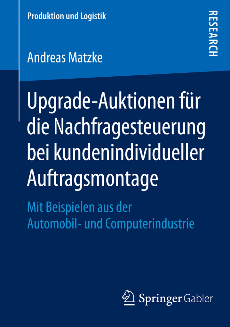Upgrade-Auktionen für die Nachfragesteuerung be...