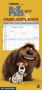 Pets Familienplaner - Kalender 2017