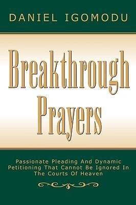 Breakthrough Prayers als Taschenbuch