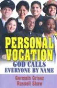 Personal Vocation: God Calls Everyone by Name als Taschenbuch