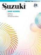 Suzuki Harp School, Vol 5: Harp Part, Book & CD