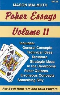 Poker Essays als Taschenbuch