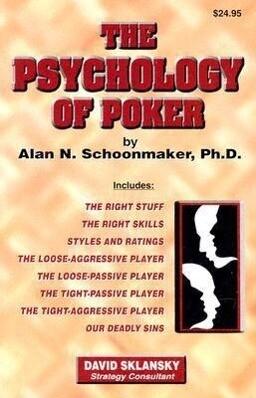 The Psychology of Poker als Taschenbuch