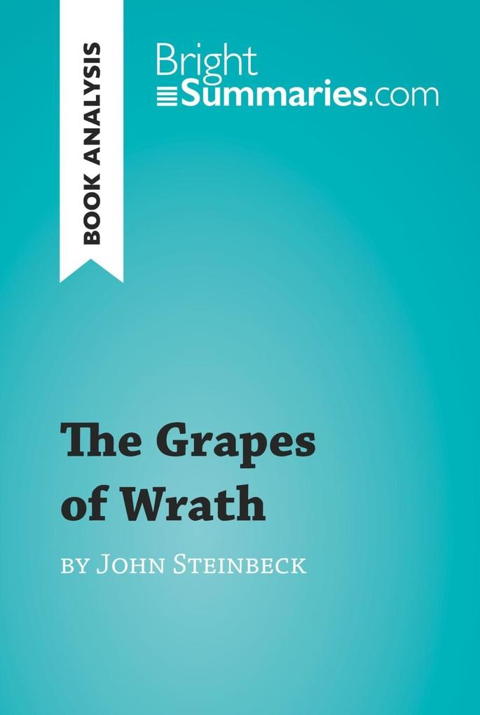 an analysis of social criticism in the grapes of wrath by john steinbeck Also explains the historical and literary context that influenced the grapes of wrath the grapes of wrath john steinbeck on the economic and social system.