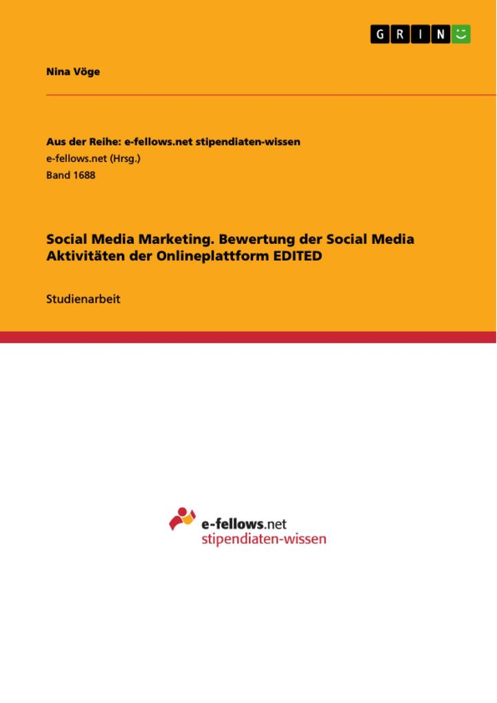 Social Media Marketing. Bewertung der Social Me...