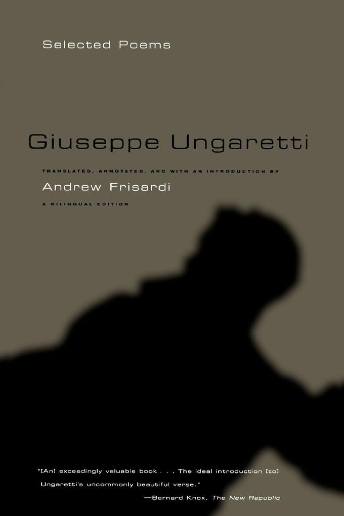 Giuseppe Ungaretti: Selected Poems als Taschenbuch