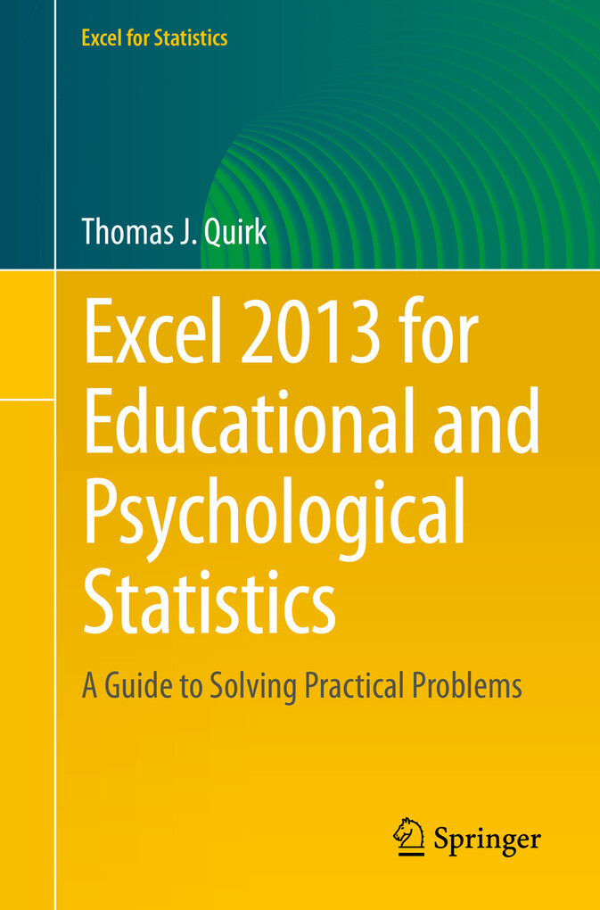 Excel 2013 for Educational and Psychological St...
