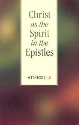 Christ as the Spirit in the Epistles als Taschenbuch