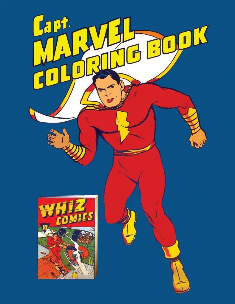 Capt. Marvel Coloring Book (Vintage 1941 Colori...