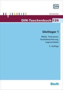 Gleitlager 1 als Buch von