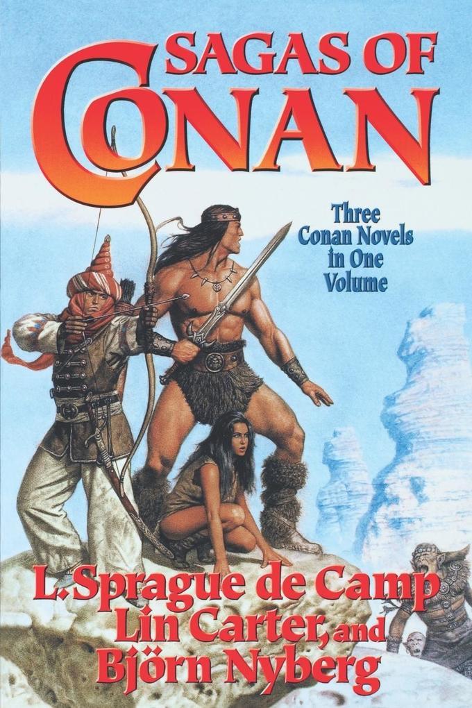 Sagas of Conan als Taschenbuch