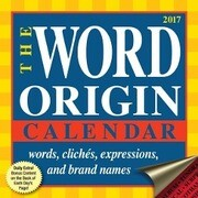 Word Origin 2017 Day Calendar